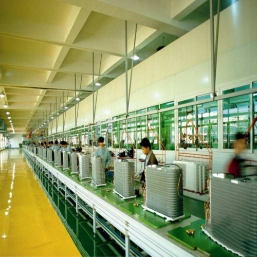 谈一谈倍速链组装线厂家的设备操作流程