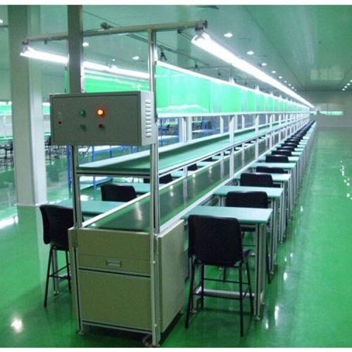 诺达自动化设备介绍,皮带流水线工作台