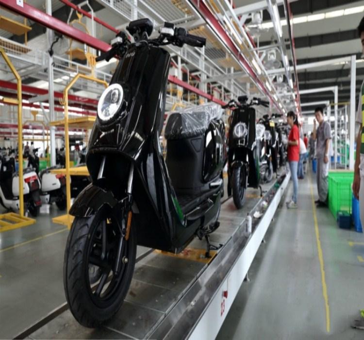 摩托车链板线